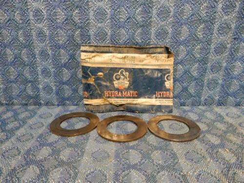 1958-1964 Pontiac Hydra-Matic NOS Front Internal Gear Spacer Pkg of 3 #8618321