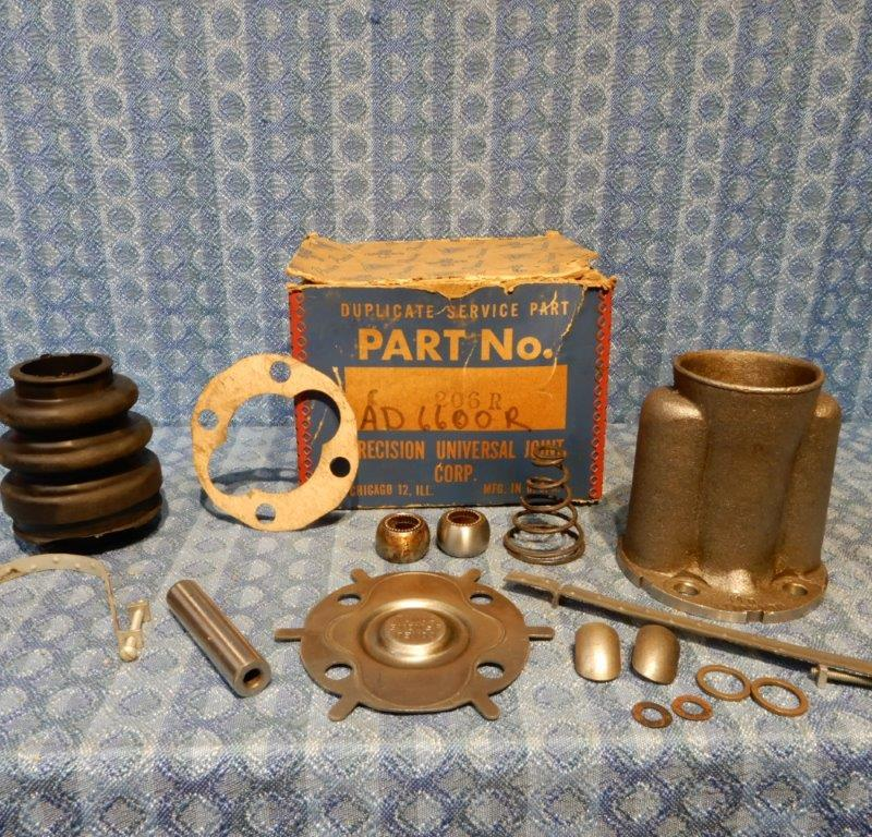 1957 1958 Dodge & Plymouth 6 cylinder NORS Rear Universal Joint Kit with Housing