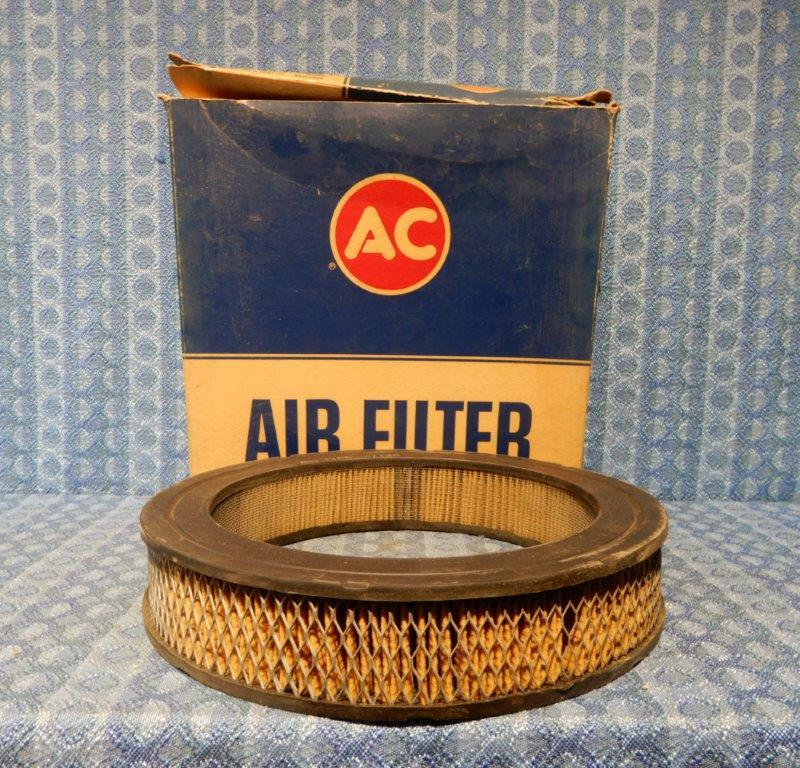 1960-1962 Chrysler 60-61 Dodge Plymouth Desoto NOS AC Air Filter Dual Quad A113C