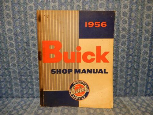 1956 Buick Original Shop Manual Special Super Century Roadmaster
