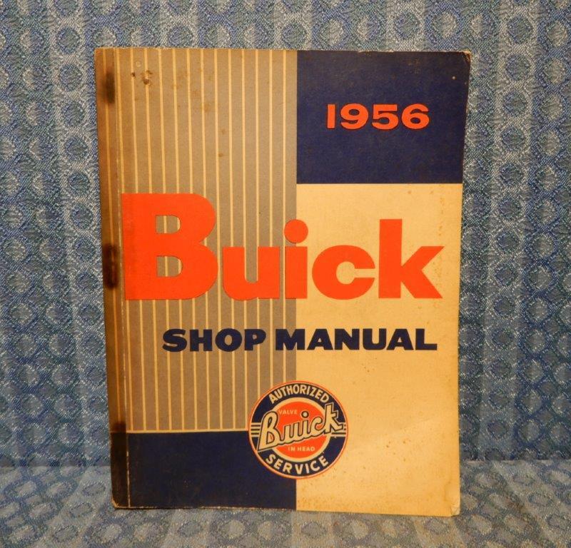 1956 Buick Original Shop Manual Special Super Century Roadmaster