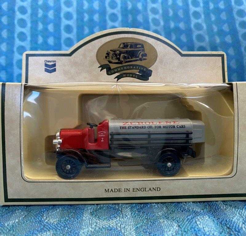 Chevron Commemorative 1911 Chain Drive Tank Truck Die Cast Metal Replica #11