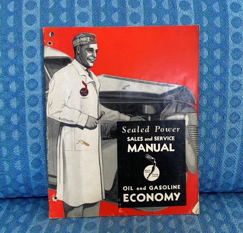 1935-1941 Sealed Power Sales & Service Manual Ford GM Mopar Hupmobile Studebaker
