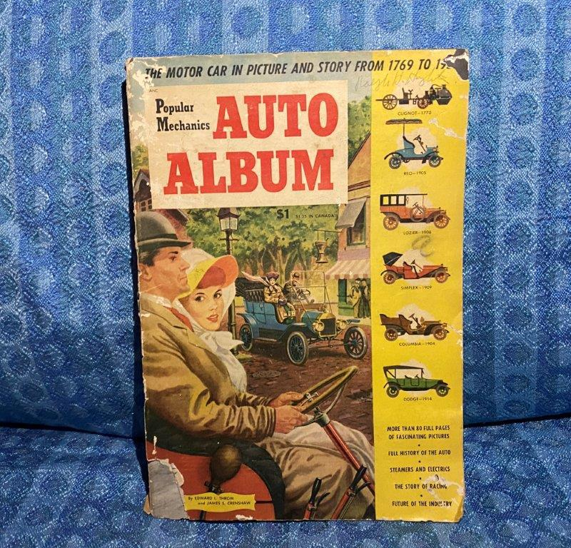1769-1952 Automobile History By Popular Mechanics Antique Car Pictures & Stories