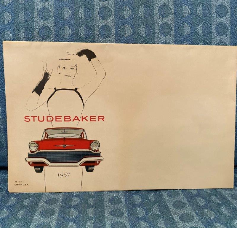 1957 Studebaker Cars Original Sales Brochure