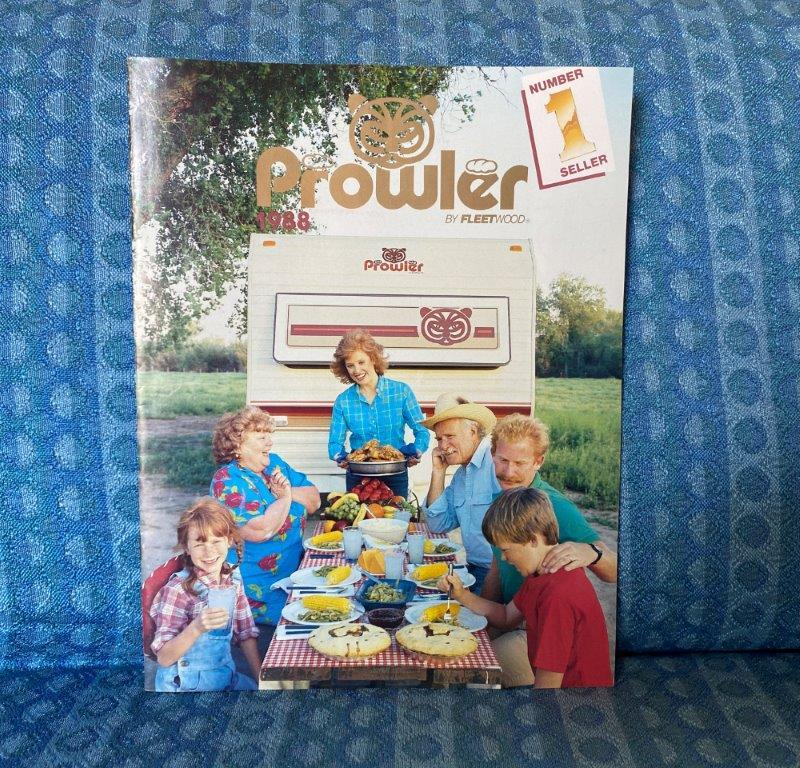 1988 Prowler Travel Trailer & 5th Wheel Original Sales Brochure