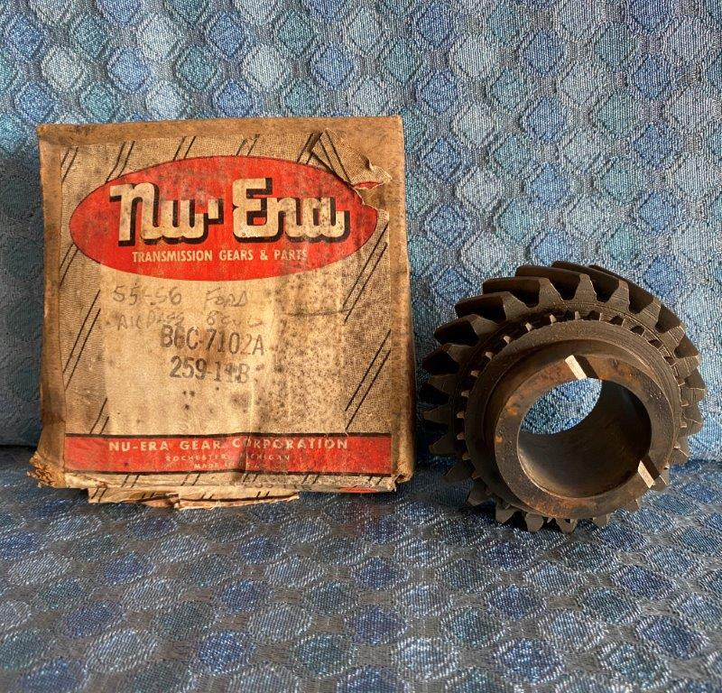 1955-1960 Ford Pass & 1/2 Ton NORS Transmission 2nd Gear 56 57 #B6C-7102A SEE AD