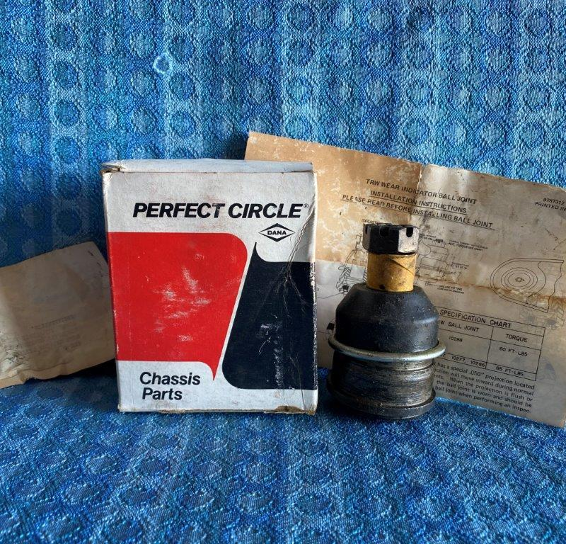 NORS Perfect Circle Ball Joint #260-1124 for GM Vehicles USA MADE