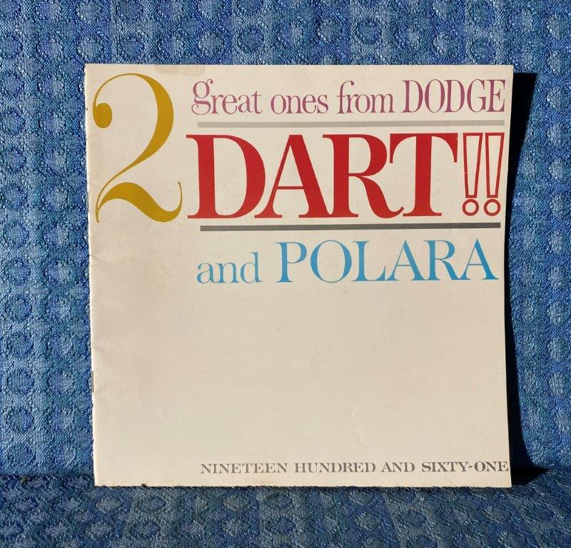 1961 Dodge Dart, Seneca, Pioneer, Phoenix, Polara Original DeLuxe Sales Catalog