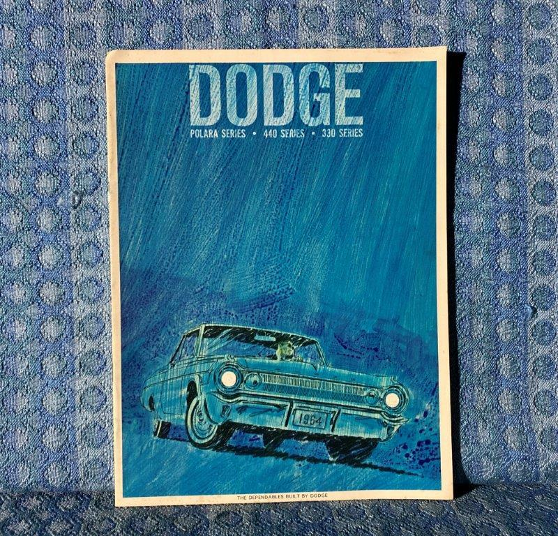 1964 Dodge Polara, 440 Series, 330 Series Original Sales Brochure / Catalog