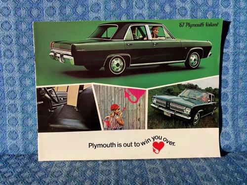 1967 Plymouth Valiant Original Sales Brochure