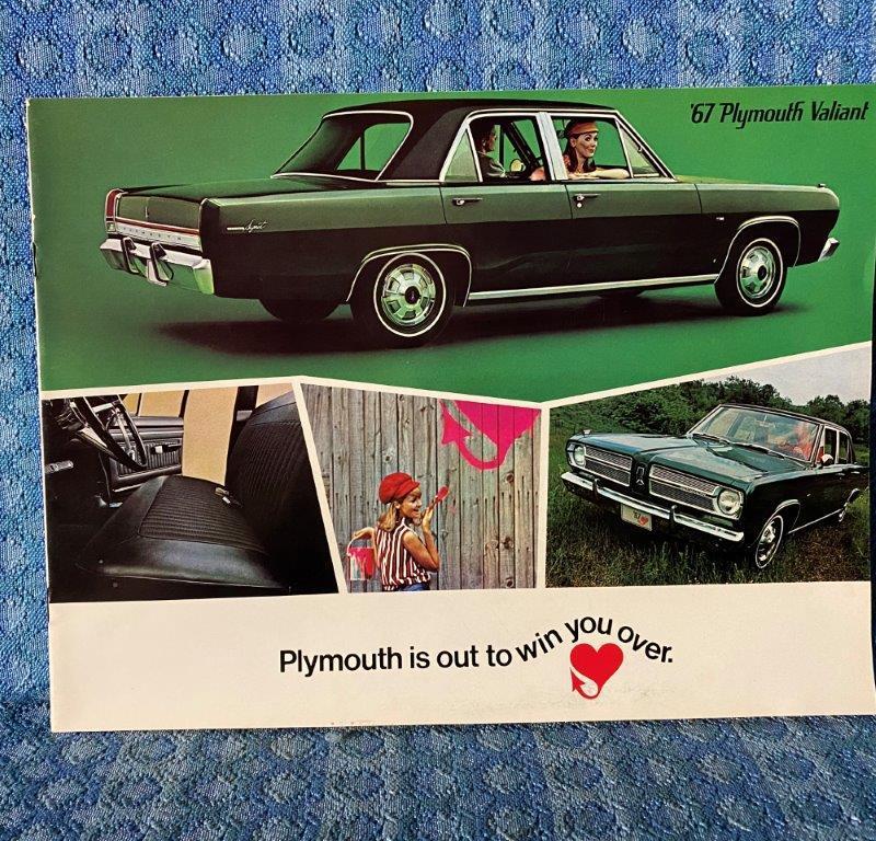 1967 Plymouth Valiant Original Sales Brochure
