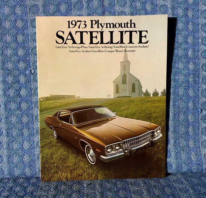 1973 Plymouth Satellite Original Sales Catalog