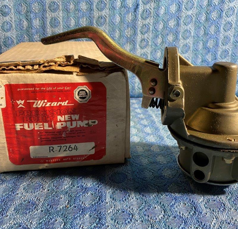 1961-1963 Pontiac Tempest 4-cyl NORS Screw Together Fuel Pump #4843