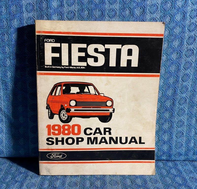 1980 Ford Fiesta Original Shop Manual
