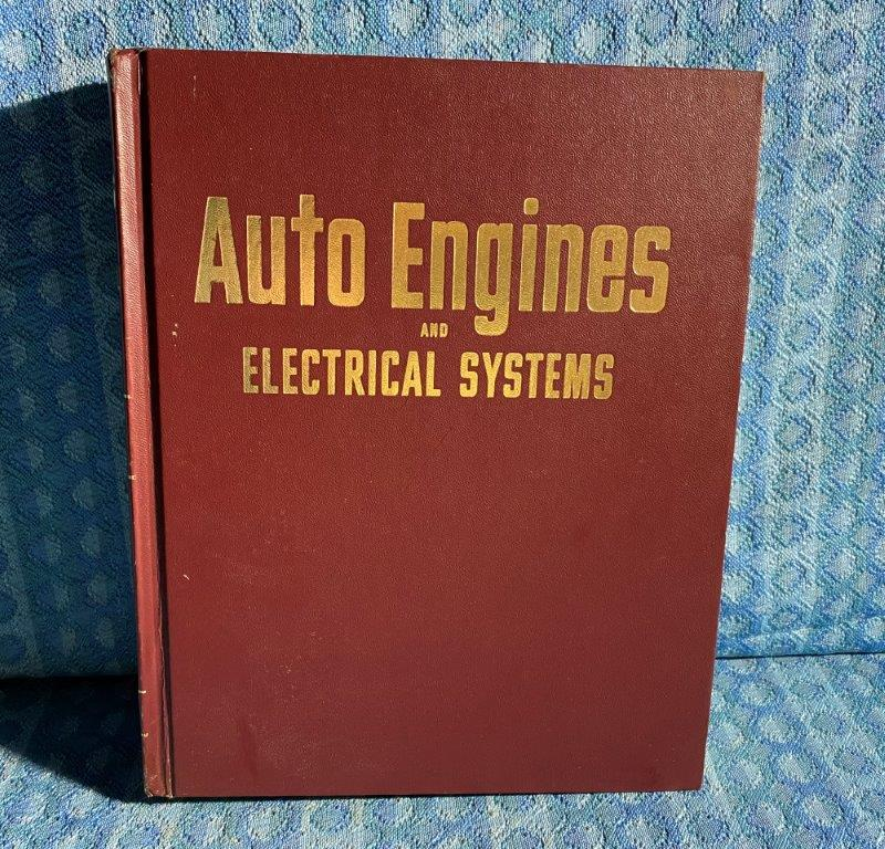 1973 Motor's Auto Engines & Electrical Systems Manual GM Ford Mopar AMC