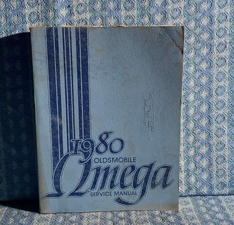 1980 Oldsmobile Omega Original Shop / Service Manual