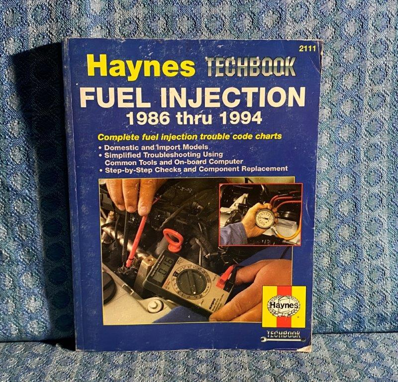 1986-1994 Fuel Injection Haynes Techbook Repair Manual GM Ford Mopar & Imports