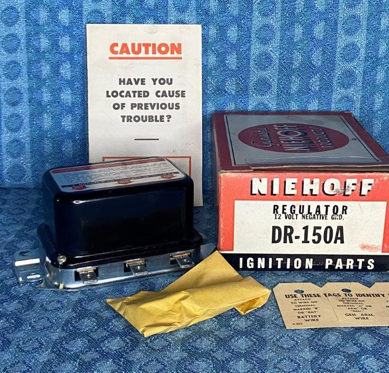 1958-1971 International Case McCormick Farmall NORS Voltage Regulator SEE AD