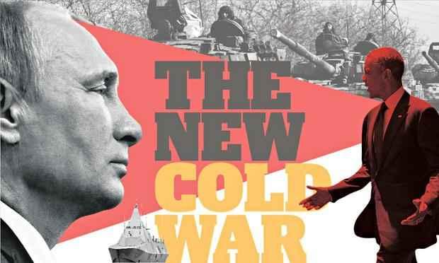 Cold war Putin and Obama