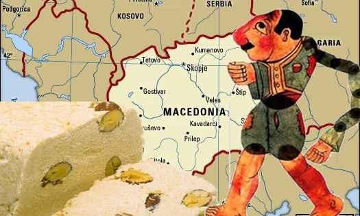 Σλαβο-Mακεδονικός χαλβάς του bakkal
