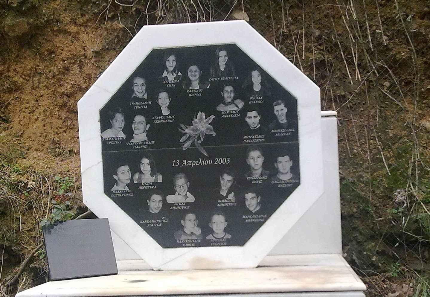 13 Απριλίου 2003: 21 μαθητές νεκροί στην κοιλάδα των Τεμπών | Νόστιμον ήμαρ