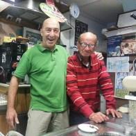 Il patron Lello con Tonino Masticello