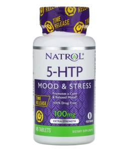 Natrol 5-HTP Time Release 100 mg, 45 tabs