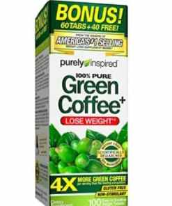 Purely Inspired Green Coffee Weight Loss Bonus 60 Tab +40 free
