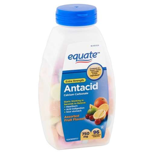 Equate Antacid Ultra Strength Tablets اكويت