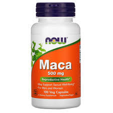 NOW Maca 500 mg 60 tab