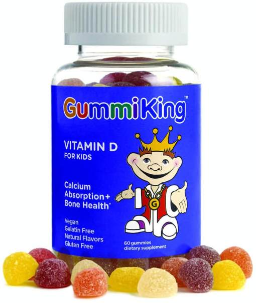 Gummiking with Vitamin D for kids