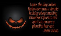 quote about halloween spirit