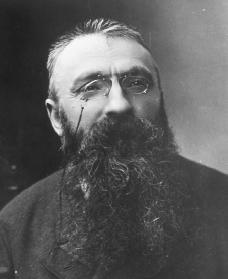 Auguste Rodin. Reproduced by permission of the Corbis Corporation.