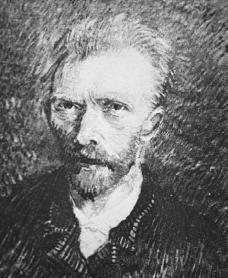 Vincent Van Gogh. Courtesy of the Library of Congress.