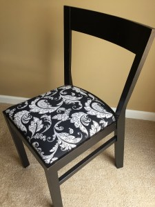 Image of finished chair