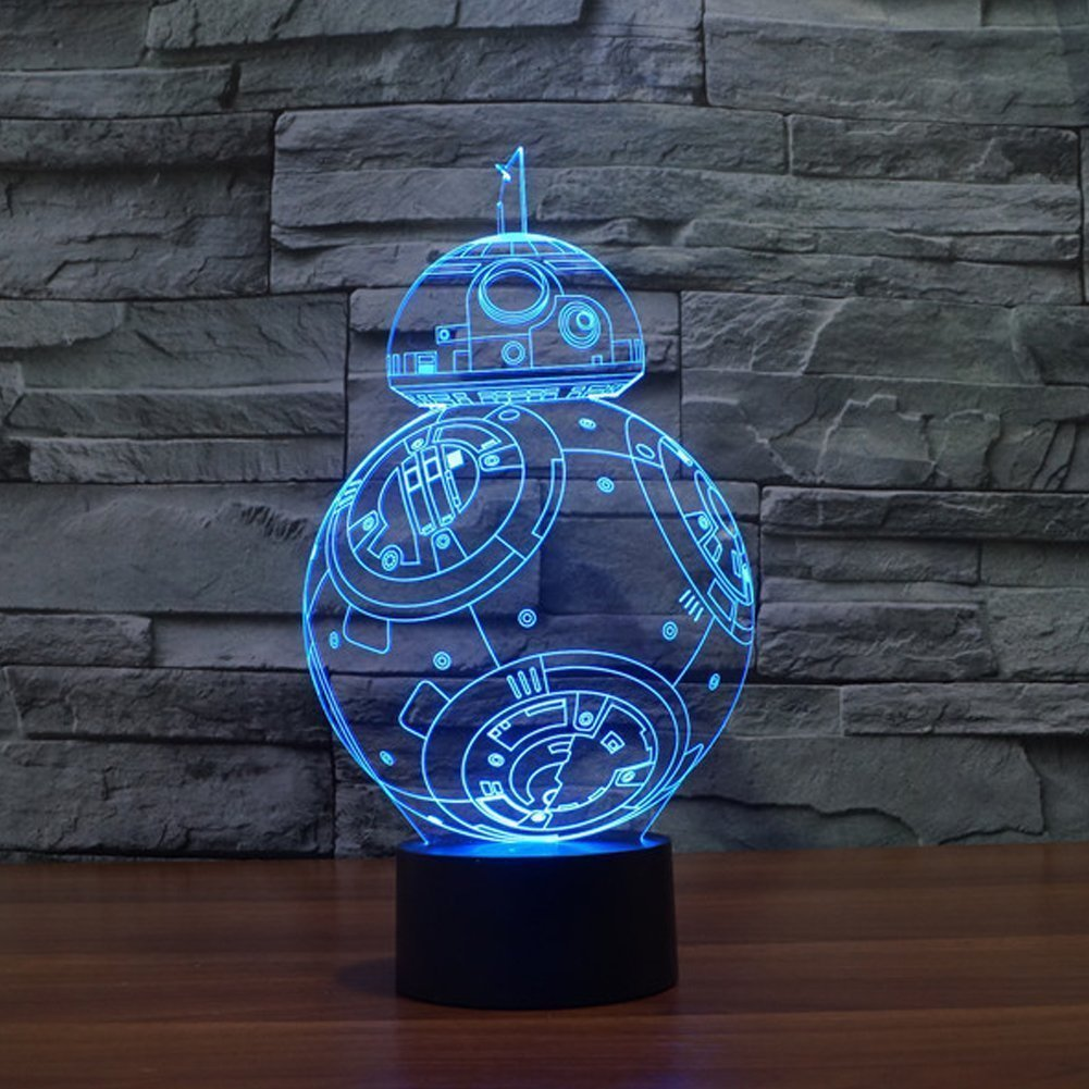 Colorful Star Wars Night Lights