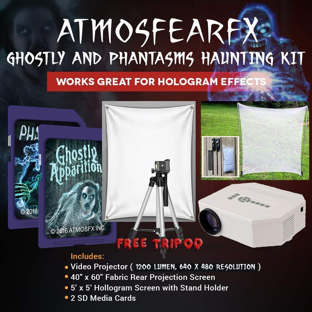 atmosfearfx: holographic halloween decorations - not any gadgets