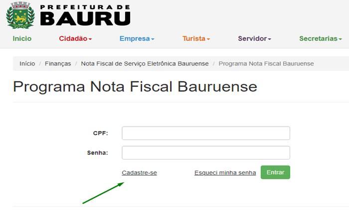 Nota Fiscal Bauruense