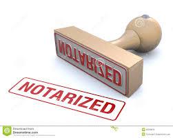 Sello notarial