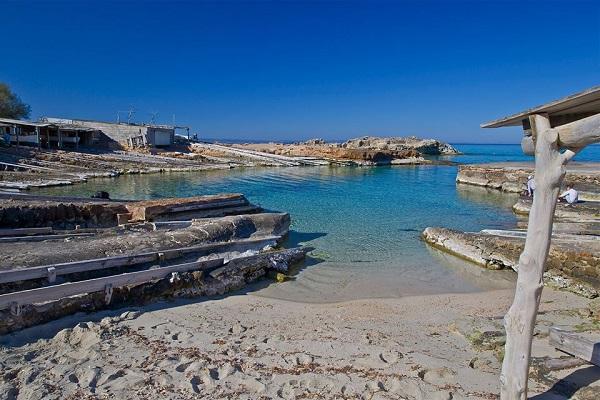La imagen inspiradora de la notaría de Formentera, según una leyenda (Foto: María Serra).