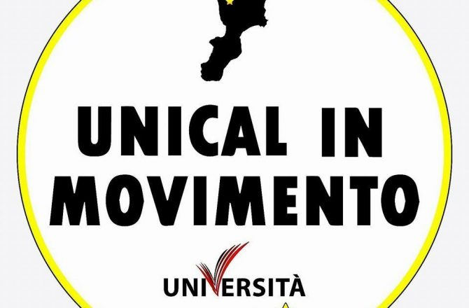 COMUNICATO STAMPA UNICAL IN MOVIMENTO