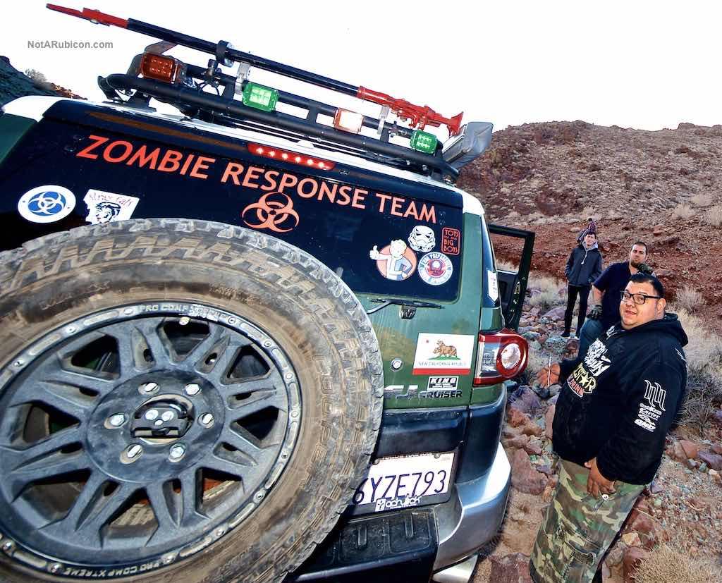 Toyota FJ Zombie Response Team at Calico