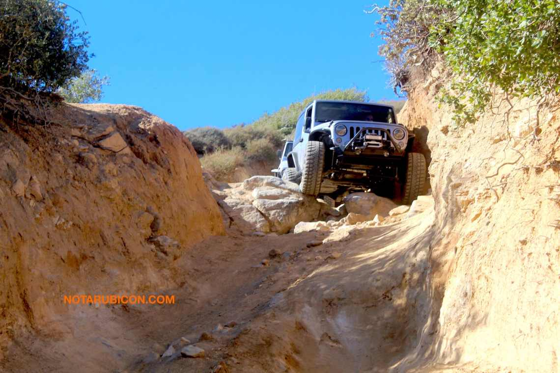 coming down The Chute on Cleghorn trail