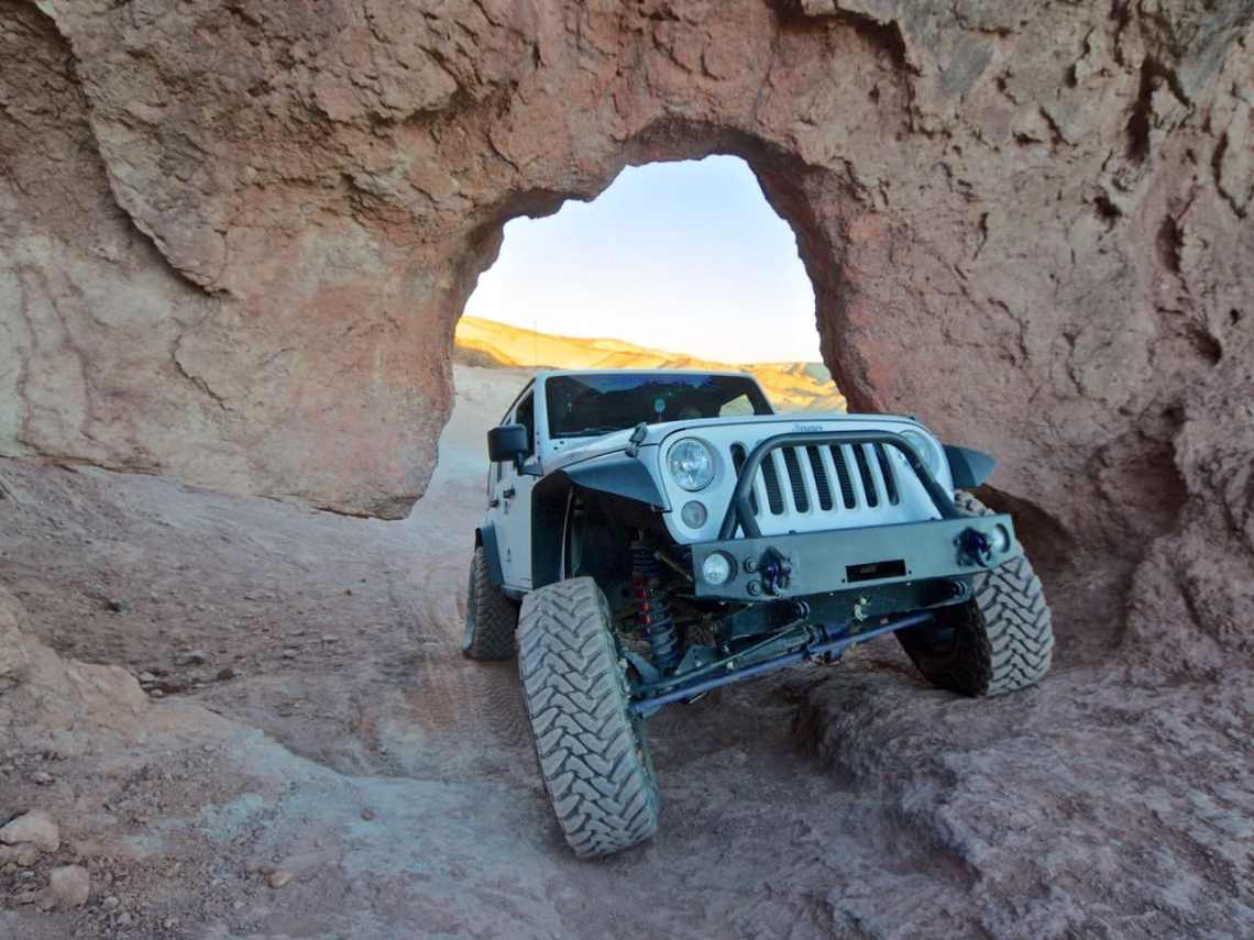 Kramer's Arch in the Calico Mountains