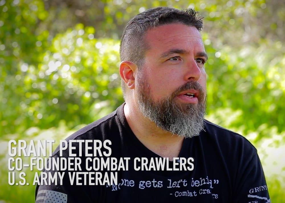Grant Peters being interviewed in the Season Premier of In4LO