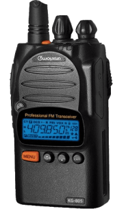 Picture of the Wouxun KG-805G GMRS walkie-talkie