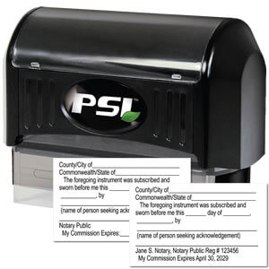 Purchase Quality Stamps for Virginia Notary
