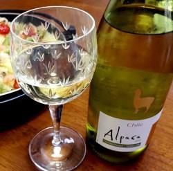 チリワイン「Alpaca」を呑んでみた