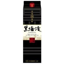 合同酒精、コクとキレの本格芋焼酎「黒海渡」を新発売